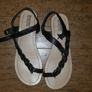 Brown mossimo sandals